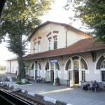 Railway Station, the village of Brusartzi