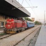Railway Station, town of Levski