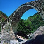 The town of Ardino - the Devil's bridge