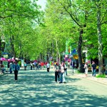 The town of Burgas