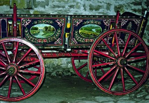 """The town of Gabrovo - Architectural-Ethnographic Complex """"Etar"""" - a cart"""