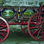 """Ethnographic open-air museum """"Etar"""", town of Gabrovo - a cart"""