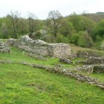 """The Remains of the Early Byzantine fortress """"Gradishte"""", town of Gabrovo"""
