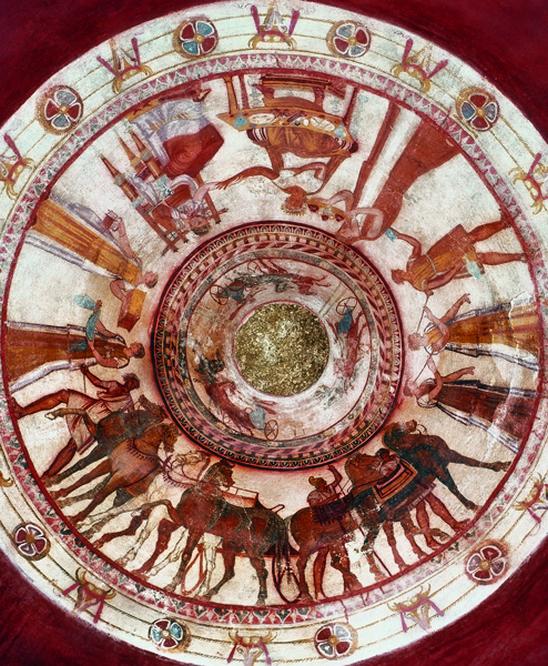 Kazanlak-thracian tomb