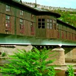 The town of Lovech - the undercover bridge
