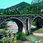 The town of Madan - the bridge