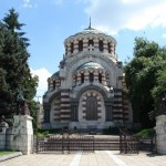 """The town of Pleven, The Chapel - mausoleum """"St. George Victor"""""""