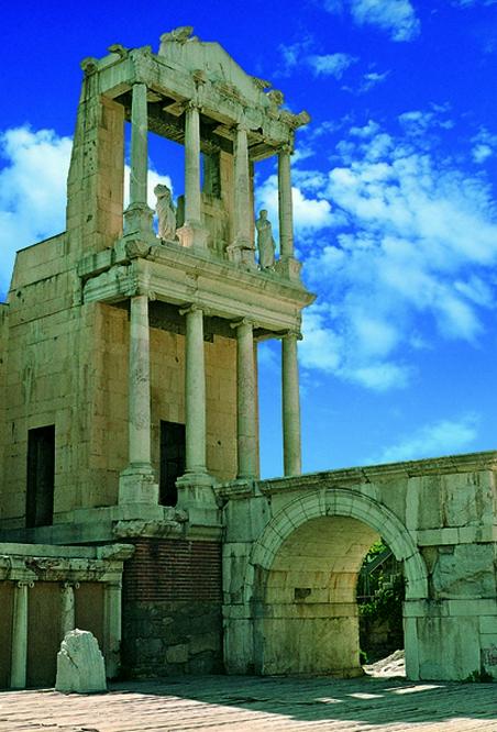 Plovdiv-The Amphitheater