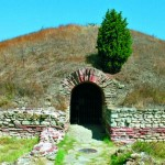 The town of Pomorie - ancient tomb