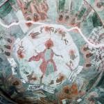 The city of Sofia - the Rotunda - frescoes