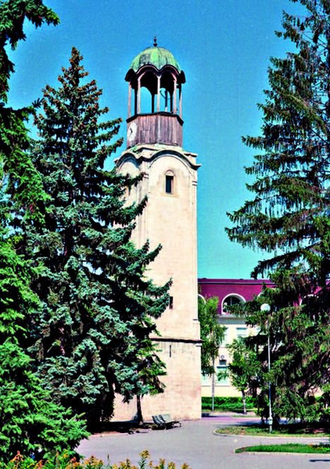 Town of Razgrad – clock tower