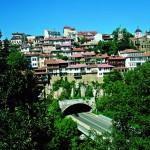 The town of Veliko Tarnovo