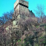 The town of Veliko Tarnovo - the tower where the Latin emperor Balduin I Flandarski was sent into exile in 1205