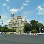 The town of Varna, Dormition of the Mother of God Cathedral