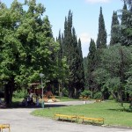 The town of Stara Zagora, Ayazmoto Park