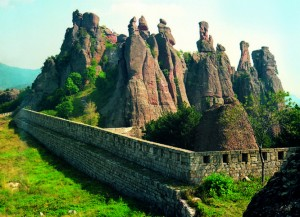 "Belogradchik Rocks and ""Kaleto"" fortress"