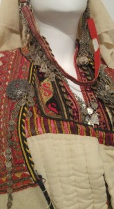 Costume of exposition in The Ethnographic Museum in Sofia