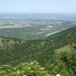 View to the town of Targovishte