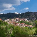 The village of Momchilovtsi, Smolyan district