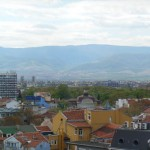 The town of Plovdiv
