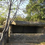 The dolmen in the village of Hlyabovo