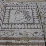 "Ancient Roman villa ""Armira"" - mosaic, the town of Ivaylovgrad"