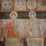 "Mural paintings in ""St. St. Konstantin & Elena"" Church, the village ot Dolno Lukovo"