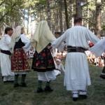Festival in the village of Zheravna