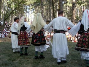 Festival in the village of Zheravna