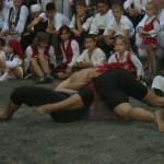 Oil Wrestling, the village of Zheravna