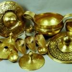 The Valchetrun's treasure – 13 gold vessels