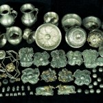 The treasure of Lukovit – 15 silver vessels, 23 applications and equipments for a horse ammunition and over 20 silver rings