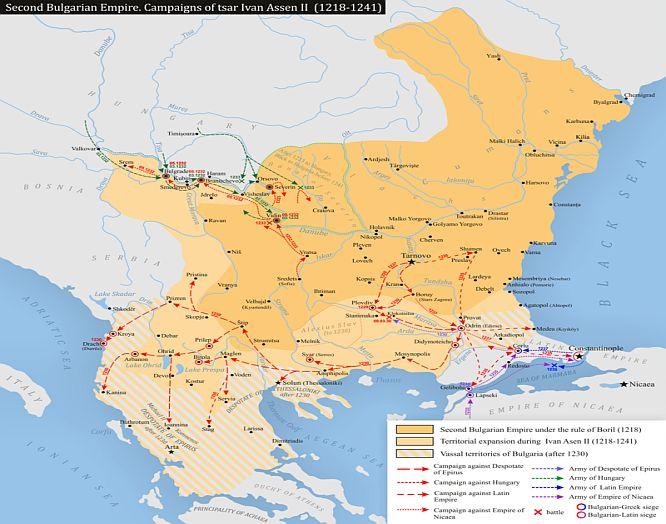 Second Bulgarian Empire