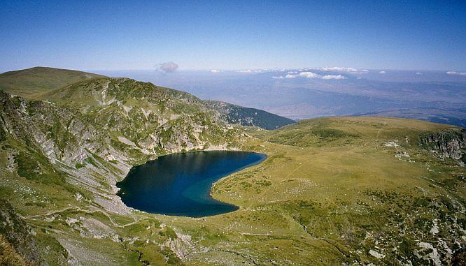 """the """"Kidney"""" lake in Rila mountain"""